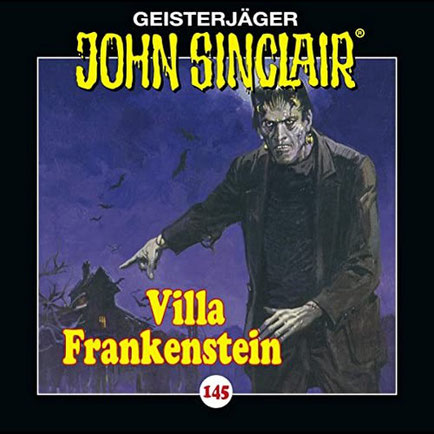 CD-Cover John Sinclair Edition 2000 - Folge 145 - Villa Frankenstein