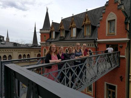 Am Schauplatz von Stig Larssons Millennium-Trilogie: Anna Nick, Daniela D., Ursula Hartmann, Maria Korten, Stephanie Jarvers
