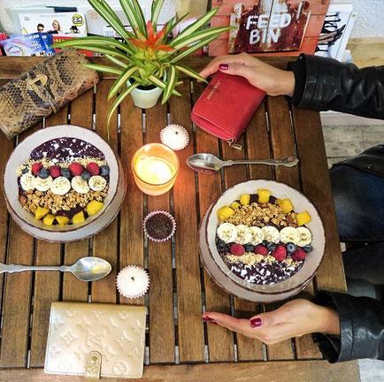 Die besten Acai Bowls in Zürich, the best acai bowls in zurich vegan