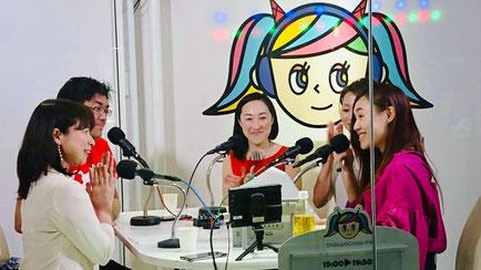 ウーマンズフリーパレット WFP ラジオ