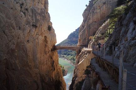 El Chorro, das Eldorado für Kletterer und Naturliebhaber
