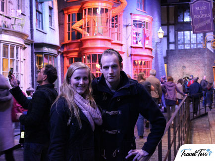 De Weg is Weg filmstudio Harry Potter