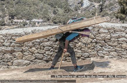 Nepal - 'Blick' zum Mt. Everest