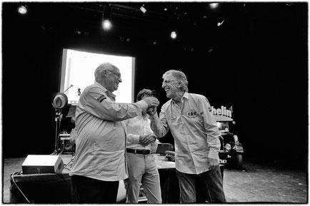 André Génin, Président du Sud, et Jean-Paul Renvoizé, Président du Nord.