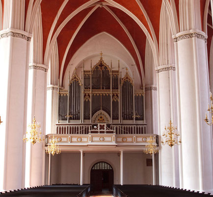 Romantic organ at Verden cathedral - Foto: Ralf Reincken