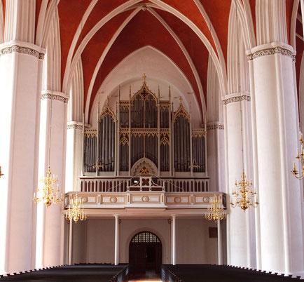Die Romantische Orgel im Verdener Dom  - Foto: Ralf Reincken