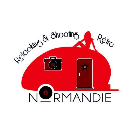 logo relooking pin-up en Normandie