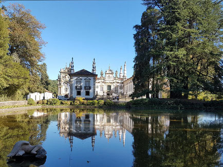 © Casa de Mateus mit schöner Gartenanlage