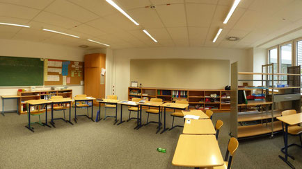 Beispiel-Foto von einem Klassenraum des BZHK Elbschule in Hamburg