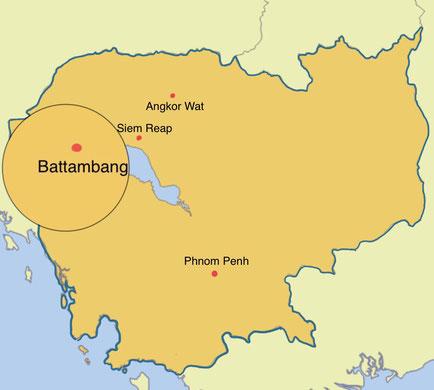 Kambodscha - Battambang - Weltreise Blog und Reiseziele - Travel um die Welt