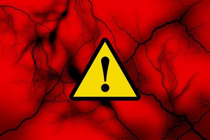 かぶらぎ整骨院・整体院ブログ 痛みは警告イメージ写真