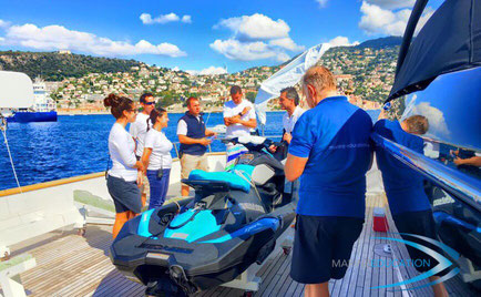 superyacht jetski instructor training