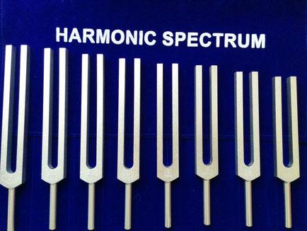 ヒーリング用音叉のハーモニックチューナー