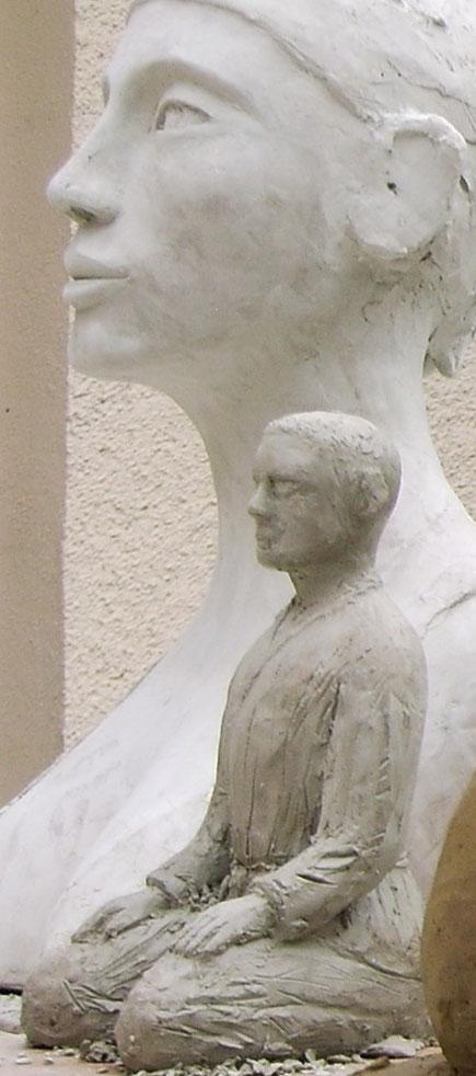 sculptures argile femme nue,nus artistiques,nu féminin,  Nouveau  sculpteur     art  sculpture aphrodite et le seiza