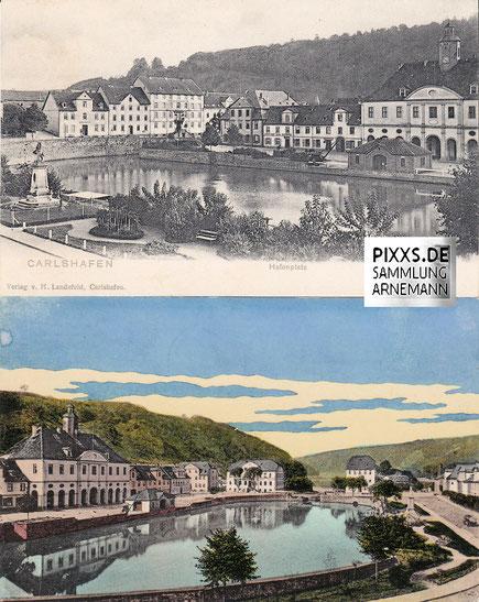 AKs 1900-1913/14 Verlag Landefeld, Carlshafen