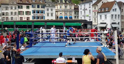BOXING TEAM ITTIGEN @ BOX-AIR Barfüsser-Platz SA 15. Juni. 3. LC-CUP 2019 Basel