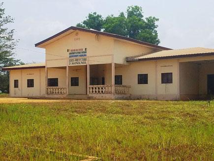 Akonolinga. La sous-préfecture