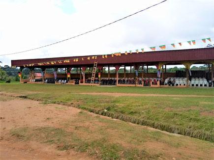 Bokito. Place des fêtes