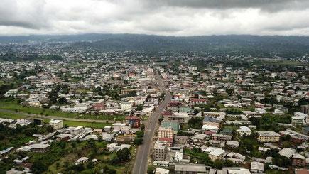Buea Une vue de la ville