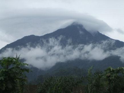 Le Mont Cameroun, Char des Dieux