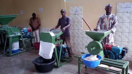 Akom II Usine de transformation de manioc