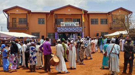 Hotel de ville de Belel inauguré en 2019