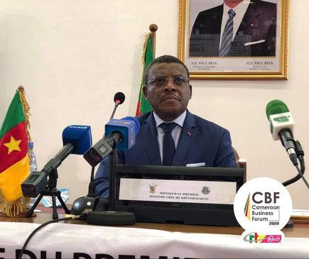 Le PM DION  NGUTE préside les travaux du CBF 2020, 11ème édition