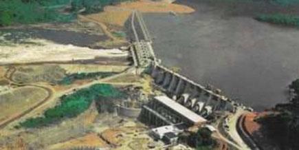 Le barrage de Songloulou inauguré le 14 novembre 1981