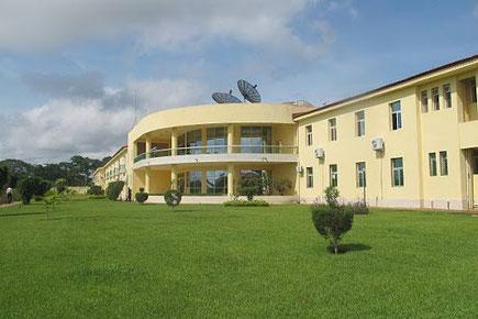 Le Centre d'Excellence de la CAF à Mbankomo, consy=truit à partir de 2006, inauguré en 2010