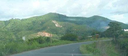Le col de Batié, dans l'Ouest du Cameroun