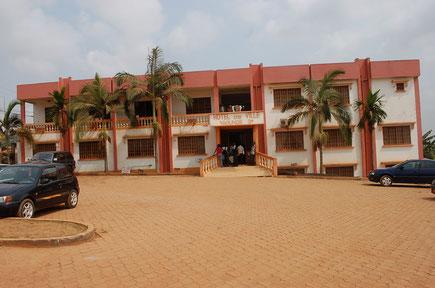 Hötel de ville de Yaoundé 3ème au quartier Efoulan