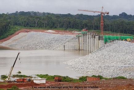 Le barrage de Lom-Pangar mis en service en 2017