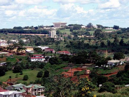 Yaoundé, capitale du Mfoundi, du Centre et du Cameroun