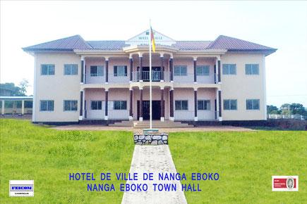 Hotel de ville Nanga Eboko
