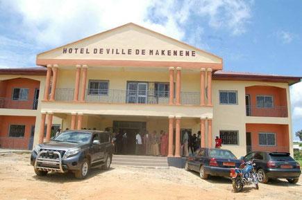 Hotel de ville de Makénéné