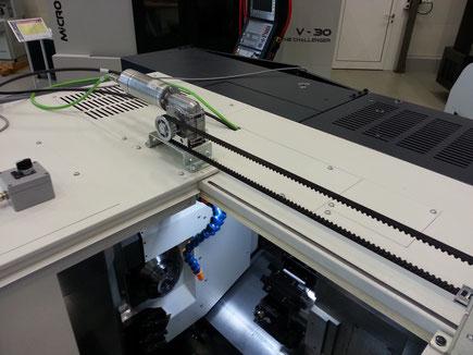 Schutztürantrieb Handlingsysteme Roboter Robotersysteme Elektronischer Schutztürantrieb