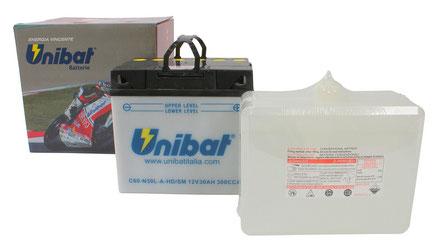 Unibat preisgünstige Säure-Batterie