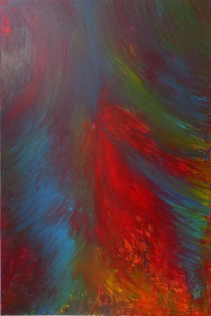 Sinfonie / Acryl auf Leinwand / 150 x 100 cm