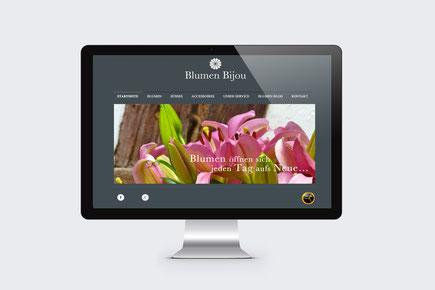 Webdesign Blumen Bijou Hinterkappelen