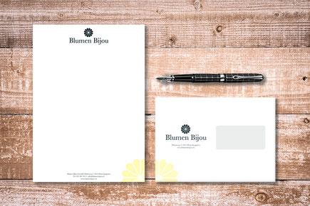 Briefschaften von dickesdesign für Blumen Bijou Hinterkappelen