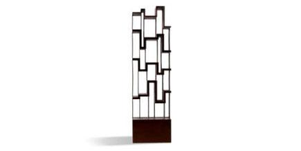 Pittix. Librería de acero corten. Edición limitada a 8 piezas. Una cascada continua de ideas que componen una estructura inacabada.