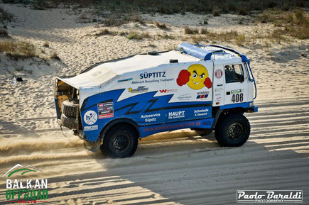Il tedesco Heuer Tom secondo Big Truck Cross Country
