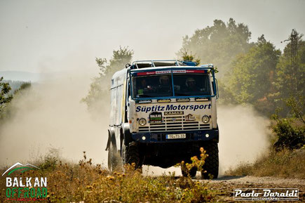 Sueptitz Tilo (D), terzo Big Truck Cross Country