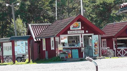 Tourismusbüro auf Utö