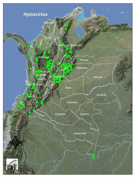 Registros del género en Colombia