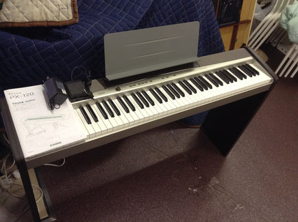 CASIO電子ピアノPriviaPX-120