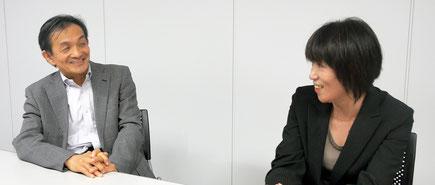 <左から、栗山 治 氏 ・ 木村 玲美 氏>