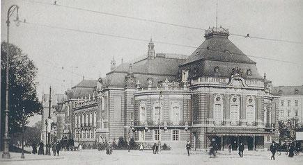 Neue gestiftete Musikhalle (Laeiszhalle)