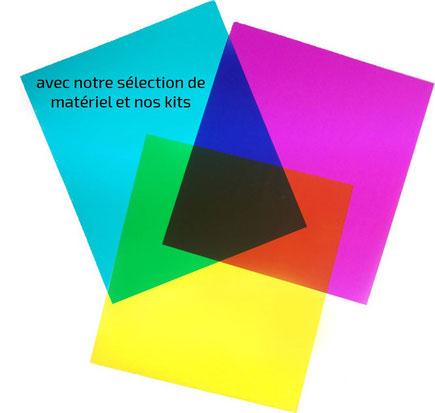 vente de filtres colorés