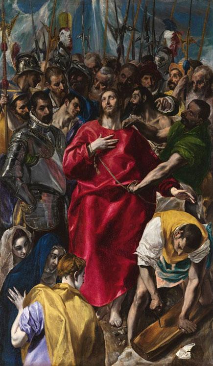 Самые известные картины Эль Греко - Совлечение одежд с Христа
